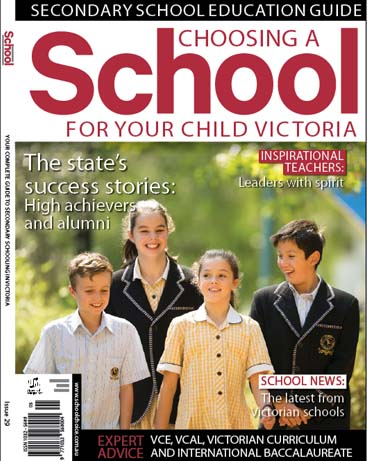 Buy Choosing a School Victoria magazine